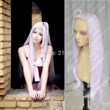 Free Shipping Mirajane Strauss Long Straight 80cm Pink Cosplay Wigs Anime Fairy Tail Very Fashionable Sexy Synthetic Hair Wigs