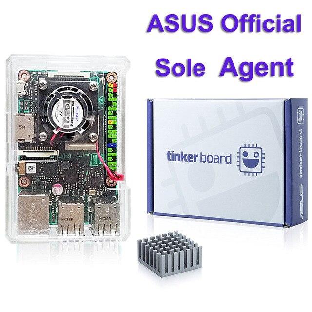 ASUS SBC Tinker board RK3288 SoC 1.8GHz رباعية النواة وحدة المعالجة المركزية ، 600MHz Mali T764 وحدة معالجة الرسومات ، 2GB LPDDR3 المفكر المجلس/tinkerboard