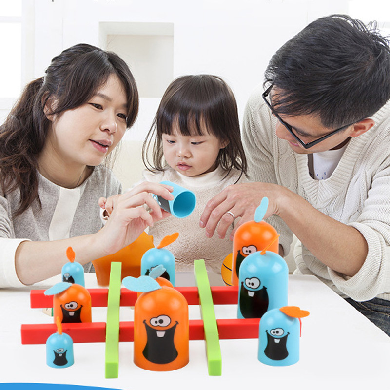 Gobblet Gobblers Chess Board Game Line Up For Family Parent-Child Party Toys YJS Dropship