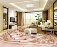 3d Flooring Marble Relief Soft Bag Rose Jade Carved European 3D Floor 3d Pvc Wallpaper 3d