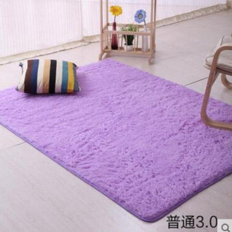 Home Supplies 16 Sizes Plush Shaggy Soft Carpet Faux Fur