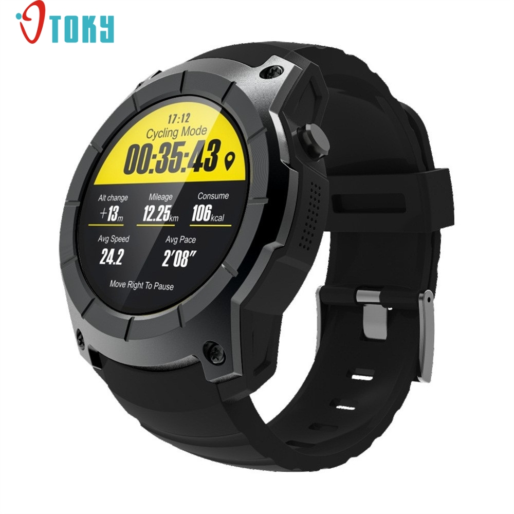 HIINST S958 Men's Bluetooth Smart Watch Support GPS,Air Pressure,Call,Heart Rate,Sport Watch H30 AUG18