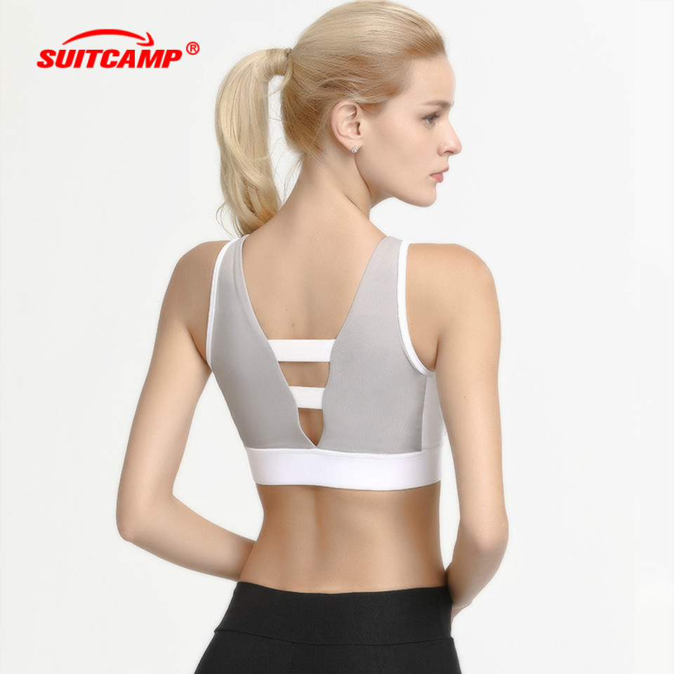 New Quick Dry Sports Bra for Womens Gym Brassiere Sport Woman Fitness Top Padded Yoga Breathable Sexy