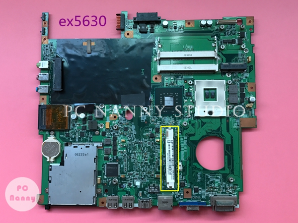 MBTRD01001 MB.TRD01.001 Main board For Acer EX5630 5630 Laptop motherboard PM45 DDR2 with Graphics slot 48.4Z401.01M