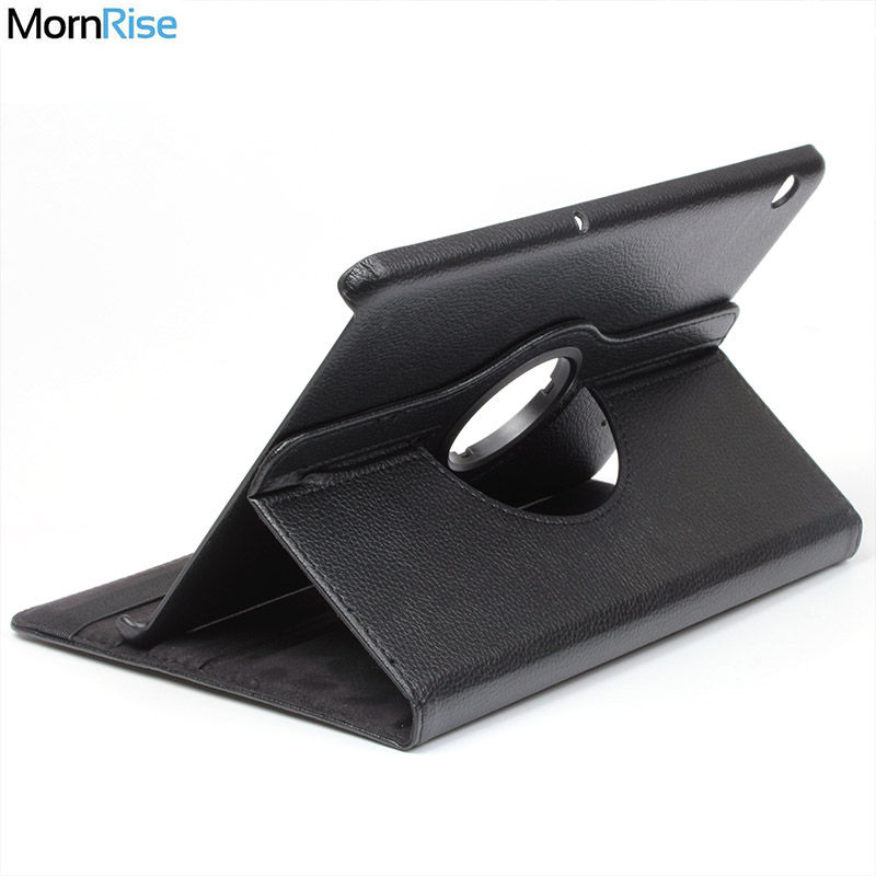 360 Degree Rotating PU Leather Flip Cover For Huawei MediaPad T5 10 Case AGS2-W09BHN 10.1 inch Tablet Stand Folding Folio Cases jeruan 7 inch video door phone record intercom system rfid access entry security kit for 4 apartment camera to 4 household