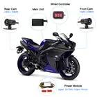 SYS VSYS M2F Pro WiFi мотоцикл Даш камера 2CH 1080P SONY IMX323 170 градусов широкоугольный объектив рыбий глаз мотоцикл камера рекордер - 6