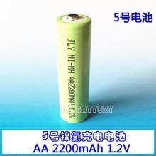 Новинка; Лидер продаж батарея № 5 аккумуляторная батарея никель-металл-гидридного AA 2200 мА/ч, прямые продажи с фабрики высокоемкостный аккумулятор Перезаряжаемые литий-ионный аккумулятор