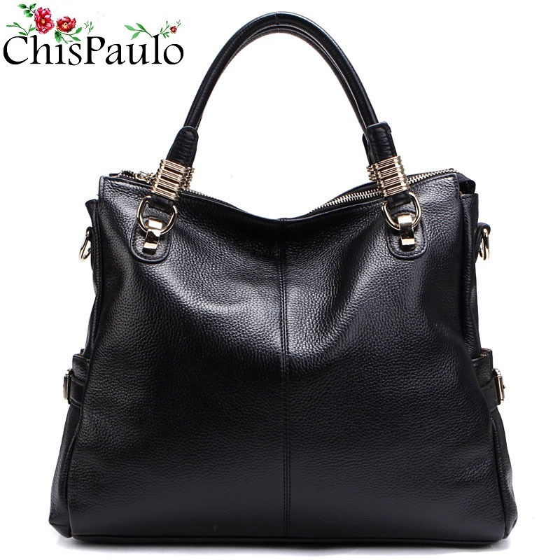 CHISPAULO Luxury Brand Designer Woman Bag 2017 Women Genuine Leather Handbags Fashion Women's Shoulder Bags Bolsa Femininas T236 chispaulo luxury brand women genuine leather handbags designer female crossbody bag fashion women s shoulder bags lady bags x21