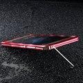 """Huawei p9 plus caso imatch original superior em forma de diamante de alumínio casos de telefone celular do metal no vidro traseiro para huawei p9 plus 5.5 """"Bumper"""