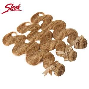 Image 5 - Tissage en lot brésilien Remy Body Wave coloré vison blond, 27 et 613, 10 à 26 pouces, Extension capillaire, livraison gratuite