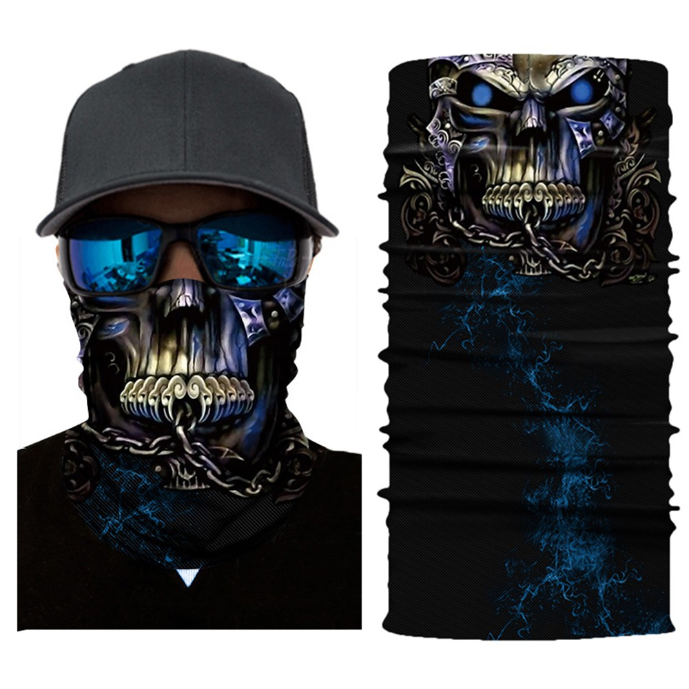 Cycling Motorcycle Head Scarf Neck Warmer Face Mask Ski Balaclava HeadbandMask Scary Halloween Face Shield OutdoorZ0301