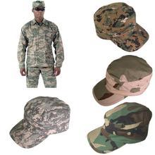 Clásico Mujeres Hombres Gorras Vintage Army Hat Cadete Military Cap Al aire libre Senderismo Sombreros