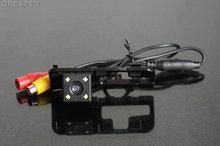 HD CCD Câmera de visão traseira do carro de volta até câmera reversa Para Honda Civic 2007-2009 4LED para GPS car dvd player À Prova D' Água À Prova de Choque