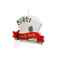 Creative Scented Birthday Weddings Candles Cartoon Flameless Poker Candles Cake For Children Gifts Birthday Candles For Cake