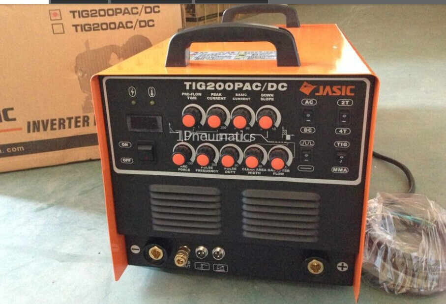 High Quality Jasic Wse 200p Tig200p Ac  Dc Tig  Mma Square Wave Pulse Inverter Welder 220 240v