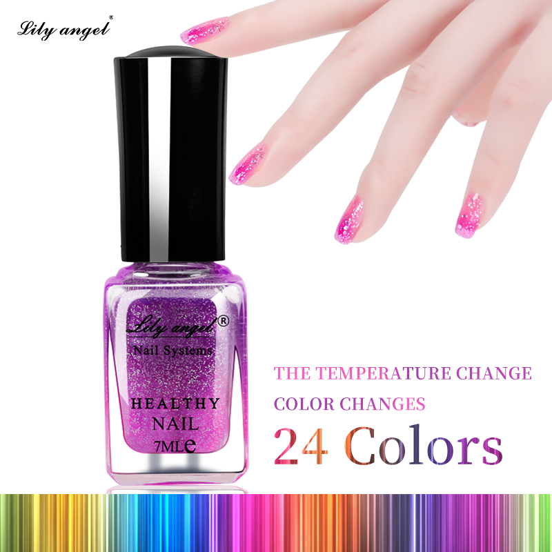 7ML Waterborne Temperature Change Nail Polish Color Gradient Nail ...