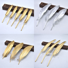 Wholesale Gold Silver Goose Feathers for Crafts Jewelry Making DIY Natural Duck Wedding Party Decorations Plumas