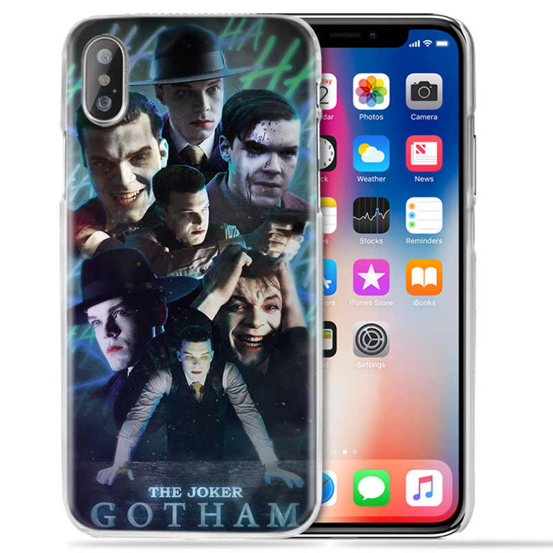 American TV Gotham Case for iPhone XS Max XR X 10 7 7S 8 6 6S Plus 5S SE 5 4S 4 5C Clear Hard PC Fundas Capa Phone Cover Coque