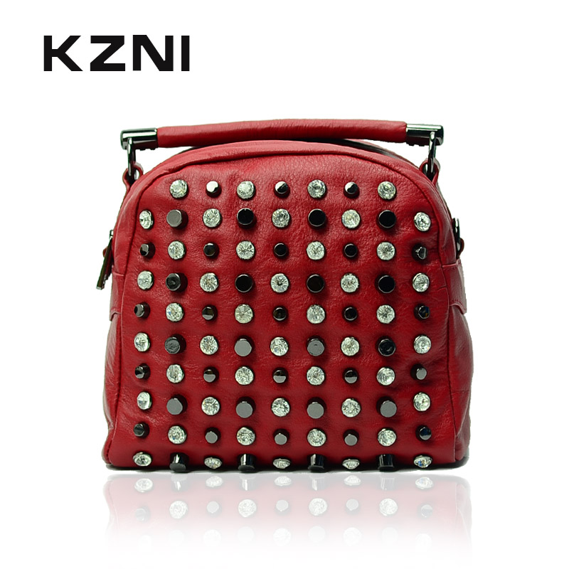 KZNI Genuine Leather Purse Crossbody Shoulder Women Bag Clutch Female Handbags Sac a Main Femme De Marque 1301 kzni genuine leather purse crossbody shoulder women bag clutch female handbags sac a main femme de marque z031819