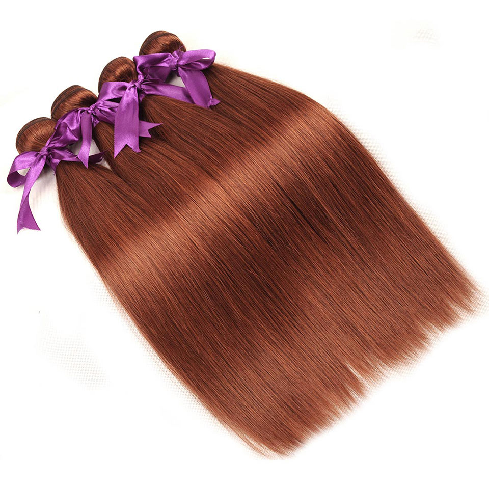 Get This Shining Star Color 33 Brazilian Straight Hair Weave 100