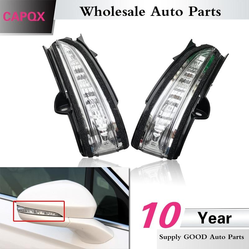 MZORANGE Rearview Mirror Light For Mondeo Fusion 2013 2014 2015 2016 2017 Turn Signal Indicator LED Light Side Mirror Lamp left