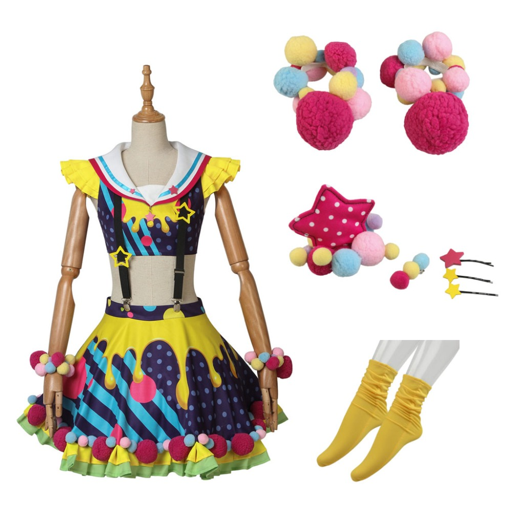 Cosplaydiy BanG Dream Poppin'Party Toyama Kasumi Costume