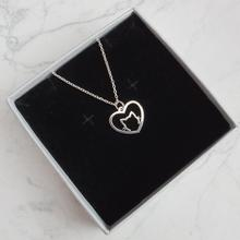 Hfarich Fashion Hollow Cat Necklace Charm Pendant Necklace Minimalist Jewelry Cat Lover Gi