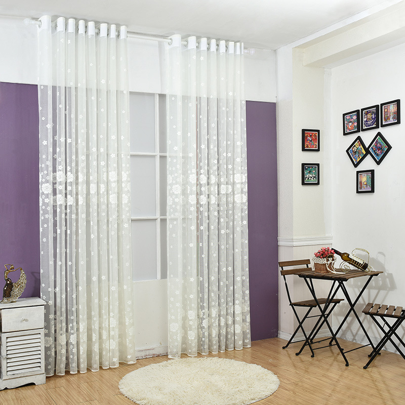 curtain curtain for living room white white voile curtain