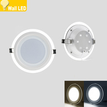 New Design Round LED Panel Downlight 6W 9W 12W  18W  24W l LED Panel lamp  AC85-265V Recessed Ceiling Panel Lights CE ROHS