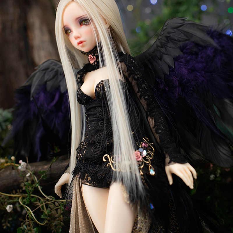 Nova Chegada Rens Linha De Fadas Fairyland MINIFEE BONECA sd Bjd 1/4 Do Corpo Meninas Meninos brinquedos Olhos De Alta Qualidade Resina presente anime FL