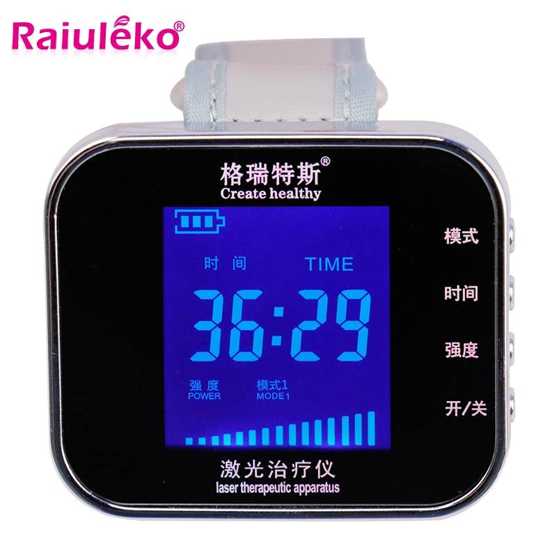Far infrared Semiconductor Laser Therapy Device Reduce Hypertension Blood Sugar Blood Purification Instrument Treating Rhinitis