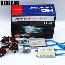 AFAECAR 55W 4300k 6000k 8000k H1 H3 H7 H11 9005 9006 881 HID kit for car