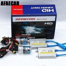 Afaecar 55 W 4300 k 6000 k 8000 k H1 H3 H7 H11 9005 9006 881 HID комплект для ксеноновые фары для автомобиля