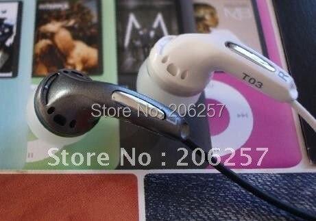 T03 In-Ear Earphones, earpiece, headphone for iPod/MP3/CD/DVD/laptop computers/mobile phones ,Best Sound
