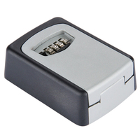 DHDL Wall Mounted 4 Digit Combination Key Storage Security Safe Lock Outdoor Indoor