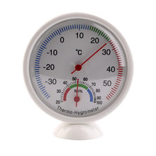 Indoor Outdoor Digital Thermometer Hygrometer Mini Pointer Temperature Meter Weather Station Neasuring Termometro(China)