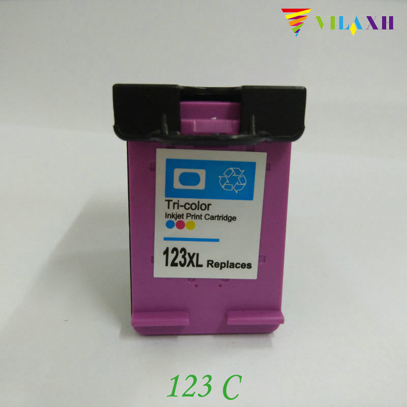123XL 123 Remanufactured Ink Cartridge 123 xl For HP Deskjet 1110 2130 2132 2133 2134 3630 3632 3636 ENVY 4513 4520 Printer