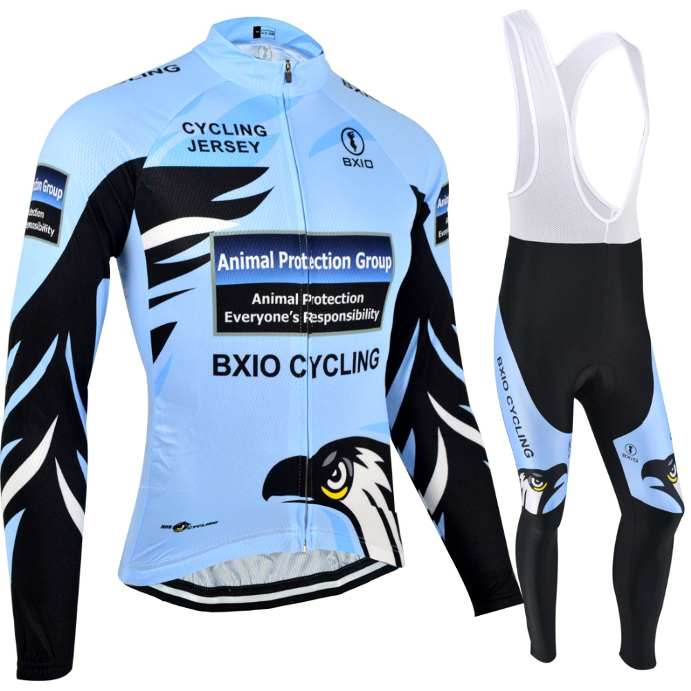 Genuine BXIO Winter Thermal Fleece Blue Cycling Clothing Pro Team Long Sleeve bikes Clothes Uniformes De Ciclismo Hombre BX-069 genuine bxio winter thermal fleece blue cycling clothing pro team long sleeve bikes clothes uniformes de ciclismo hombre bx 069