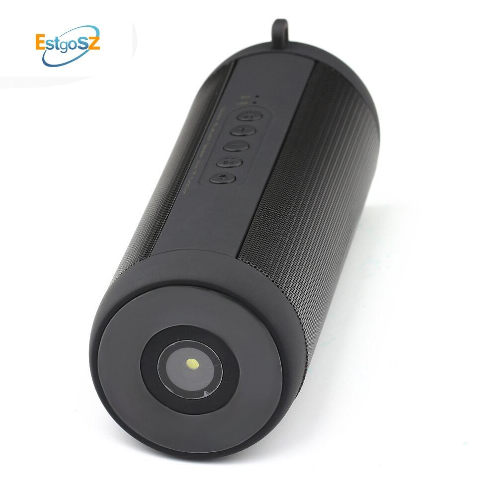 EStgoSZ T2 Portable étanche sans fil Bluetooth haut-parleur stéréo Hi-Fi boîtes Support TF carte FM Super basse haute qualité
