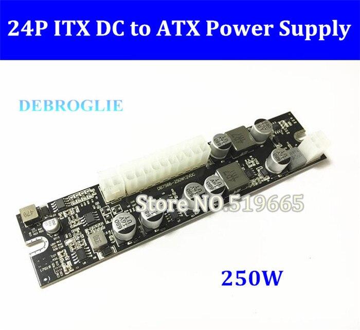 12V DC Input 250W Output Mini ITX Pico PSU DC ATX PC Switch Realan DC Power Supply Module For Computer Server