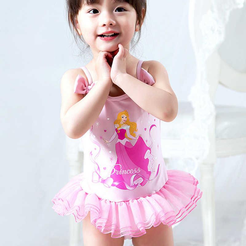 52c4a6f4a4979 ... Cartoon Girl Toddler Kids Swimming Costumes Baby Girls Tankini Bikini  Swimwear Beach Monokini Swimsuit Bathing Suit ...