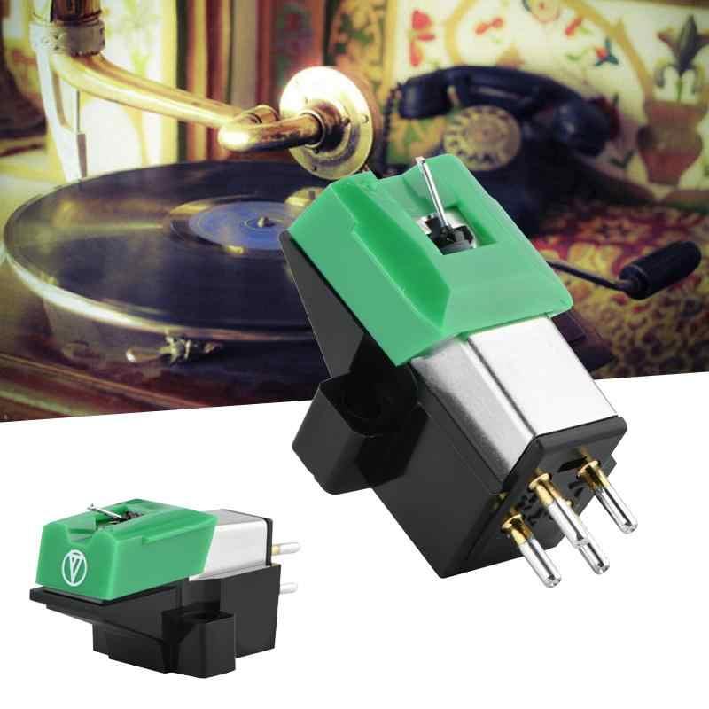 Магнитный картридж стилус с LP винил иголки, аксессуары для шитья для проигрыватель пластинок грампластинка головка с измерительным наконечником