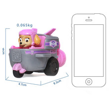 Genuine Paw Patrol Dog Puppy Patrol car Patrulla Canina toys Action Figures Model Toy Chase Marshall Ryder Vehicle Car Kids Toy