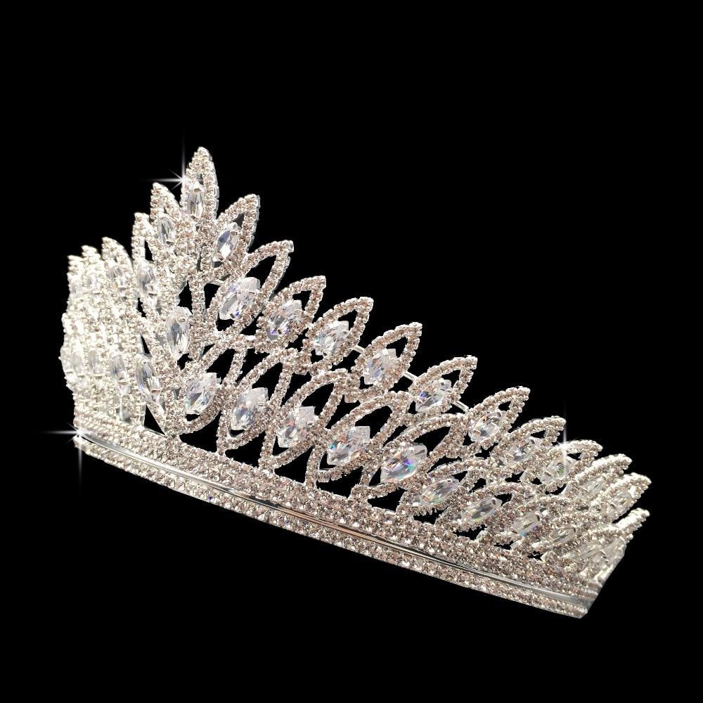 Image 4 - Crown Headband Classic Luxury Geometric Design Wedding Hair  Accessories Elegant For Women High Quality BC3103 Corona Princesabridal  tiara crowntiara crownfashion crown
