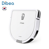Dibea GT200 Smart Gyroscope Robot Vacuum Cleaner For Home Automatic Sweeping Dust Sterilize Smart Planned Washing Mopping|Vacuum Cleaners| |  -