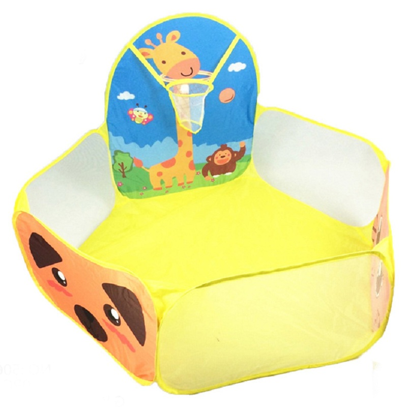 Baby Playpen Safety Tent for Children Indoor Ball Pool Play Tent Kids Hexagon Playpen Portable Foldable Playpens ...