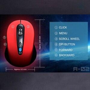 Image 4 - אלחוטי עכבר אופטי 1600 DPI האופטי אלחוטי עכבר מחשב עם 2.4G מקלט מיני עכבר למחשב נייד למחשב