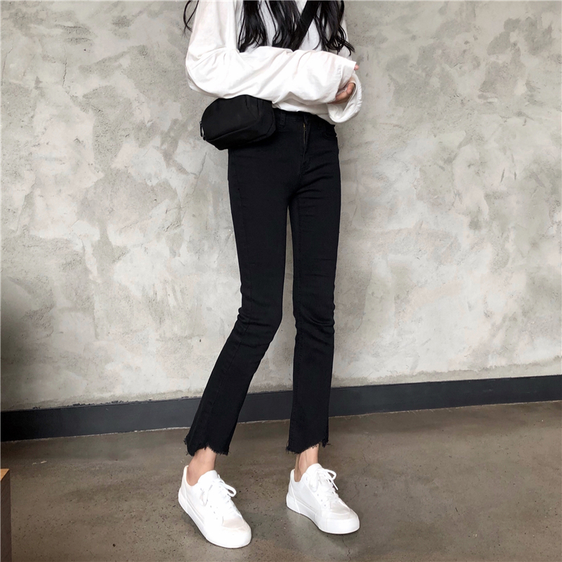 Cheap Wholesale 2019 New Spring Summer Hot Selling Women's Fashion Casual  Denim Pants NC23