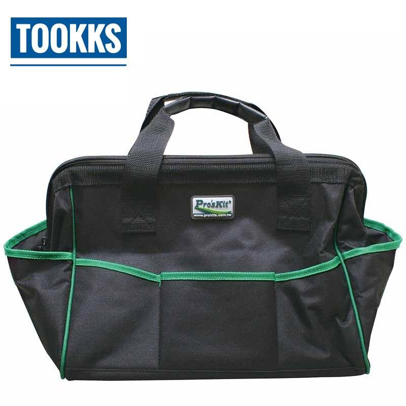 Pro'skit 30 kg capacité multifonction Pro'skit 14 pouces sac à outils de réparation Compact étanche sacs de travail de réparation électrique