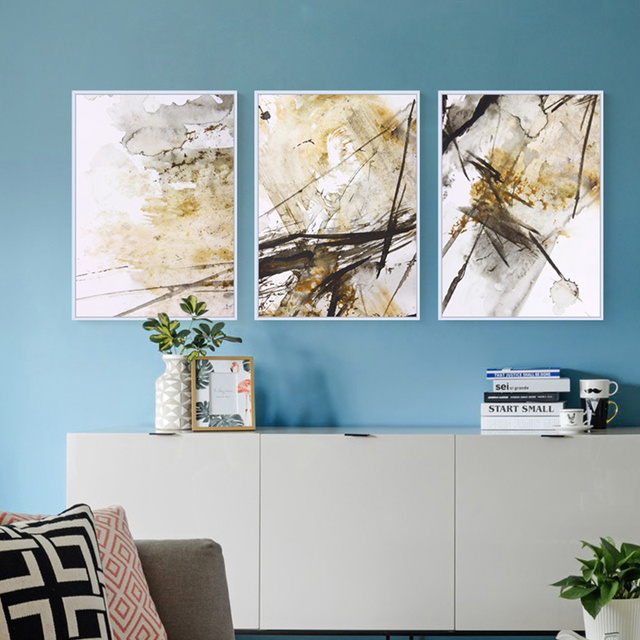 Abstract Canvas Painting Wall Art Pictures For Living Room Many Kind ...